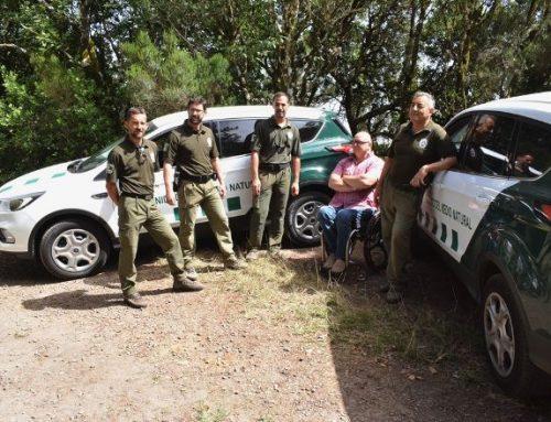 La Unidad del Medio Natural incorpora dos nuevos vehículos para patrullar por Anaga