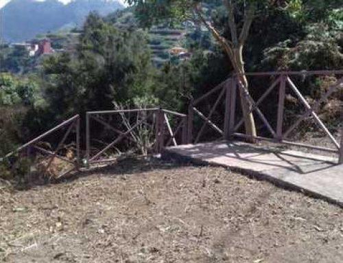 Las cuadrillas de Medio Ambiente del Ayuntamiento de Santa Cruz recuperan trazados peatonales en Anaga