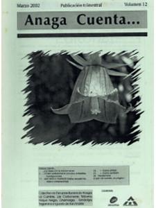 Anaga Cuenta Nº 12 - 1ª Época - Marzo 2002