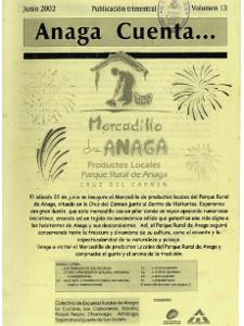 Anaga Cuenta Nº 13 - 1ª Época - Junio 2002