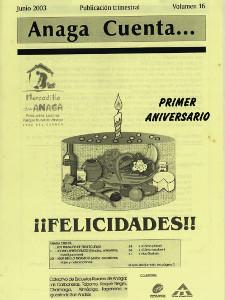 Anaga Cuenta Nº 16 - 1ª Época - Junio 2003