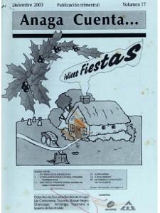 Anaga Cuenta Nº 17 - 1ª Época - Diciembre 2003
