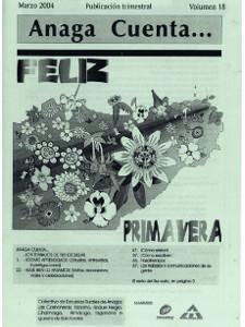 Anaga Cuenta Nº 18 - 1ª Época - Marzo 2004
