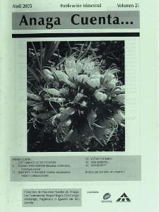 Anaga Cuenta Nº 21 - 1ª Época - Abril 2005