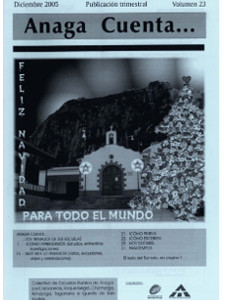 Anaga Cuenta Nº 23 - 1ª Época - Diciembre 2005