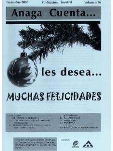 Anaga Cuenta Nº 26 - 1ª Época - Diciembre 2006