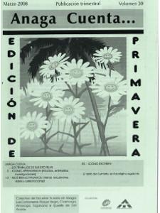 Anaga Cuenta Nº 30 - 1ª Época - Marzo 2008