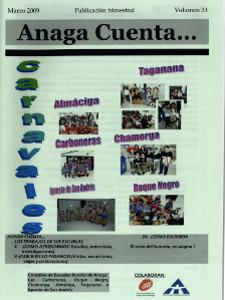 Anaga Cuenta Nº 33 - 1ª Época - Marzo 2009