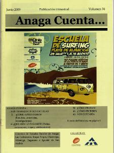 Anaga Cuenta Nº 34 - 1ª Época - Junio 2009