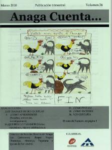 Anaga Cuenta Nº 36 - 1ª Época - Marzo 2010