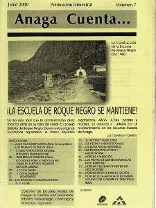 Anaga Cuenta Nº 7 - 1ª Época - Junio 2000