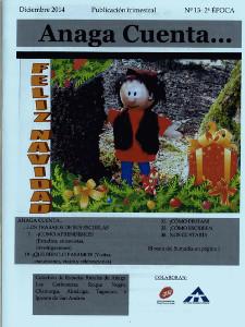 Anaga Cuenta Nº 13 - 2ª Época - Diciembre 2014