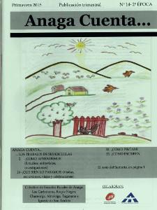 Anaga Cuenta Nº 14 - 2ª Época - Primavera 2015