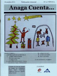 Anaga Cuenta Nº 4 - 2ª Época - Diciembre 2011