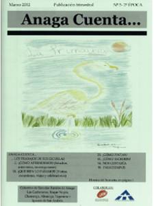 Anaga Cuenta Nº 5 - 2ª Época - Marzo 2012