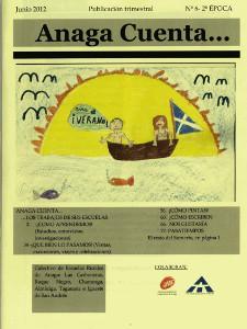 Anaga Cuenta Nº 6 - 2ª Época - Junio 2012