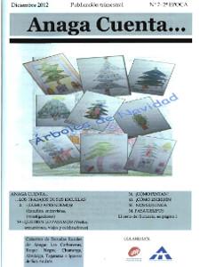 Anaga Cuenta Nº 7 - 2ª Época - Diciembre 2012