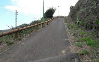 El Cabildo mejora la seguridad en tres vías del Parque Rural de Anaga