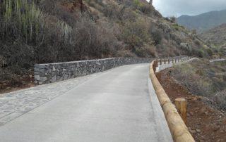 El Cabildo de Tenerife concluye las mejoras de la pista de Valle Luis a Tahodio