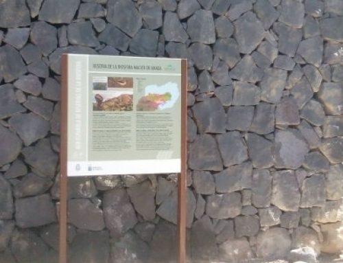 El Cabildo culmina la primera fase de señalización en la Reserva de la Biosfera Macizo de Anaga