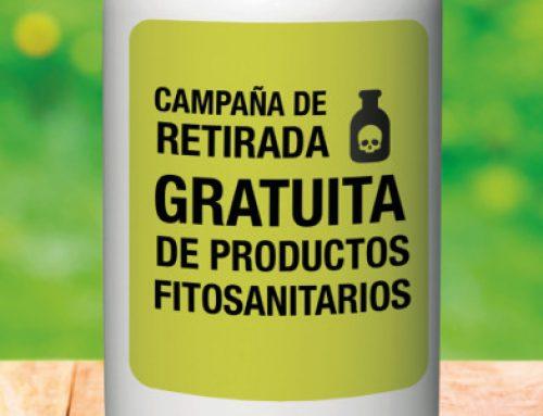 La campaña de retirada de productos fitosanitarios utilizados en la agricultura llega al área metropolitana