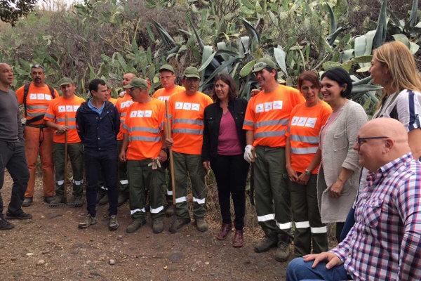Las administraciones trabajan en la recuperación del Camino de Las Lecheras