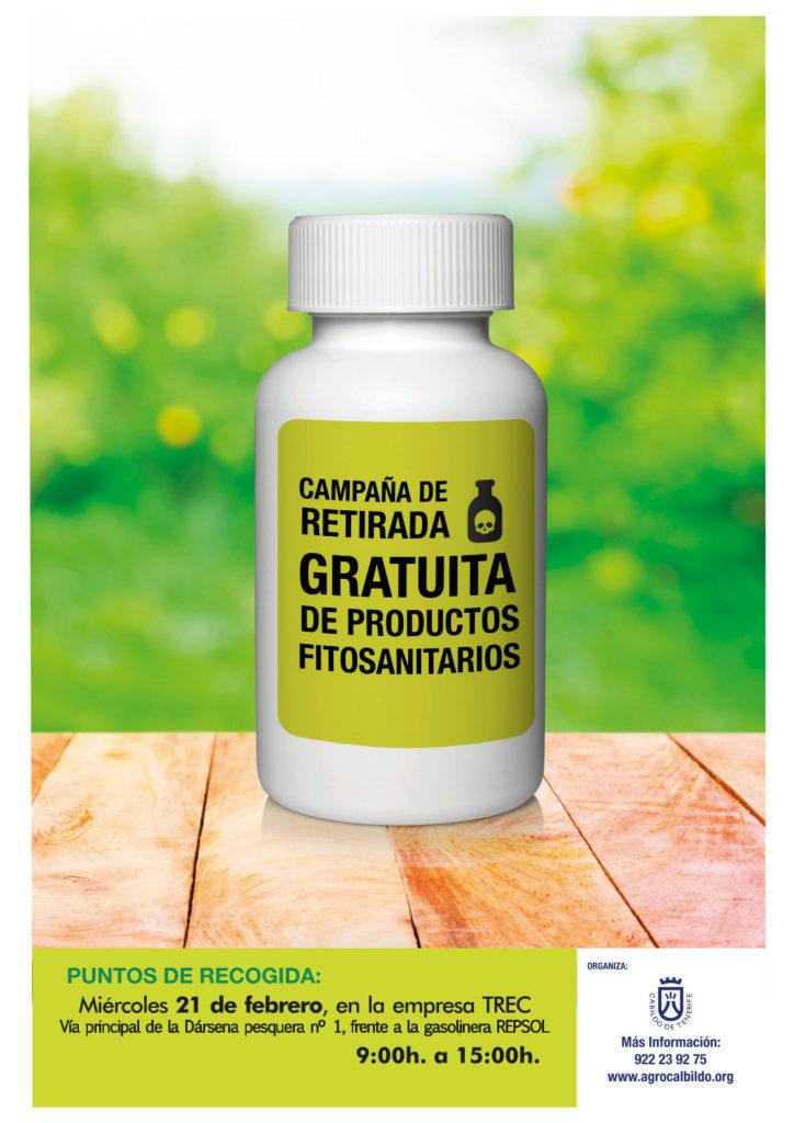 Cartel Retirada Fitosanitarios en Anaga
