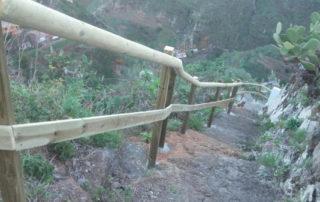 La Laguna mejora el acceso al núcleo de La Codicia, en El Batán