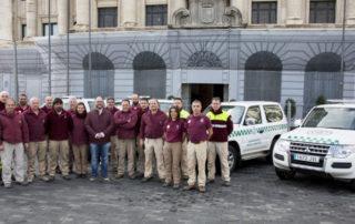 El cuerpo de Agentes de Medio Ambiente del Cabildo Insular de Tenerife