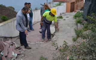 El Ayuntamiento de La Laguna acomete las obras de accesibilidad en la Hoya de Arriba