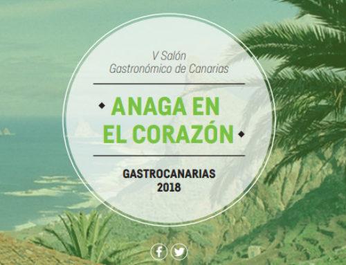 Anaga estará presente en el Salón Gastronómico de Canarias