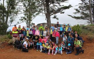 Un grupo de escolares de Tegueste aprenden a cuidar el medio