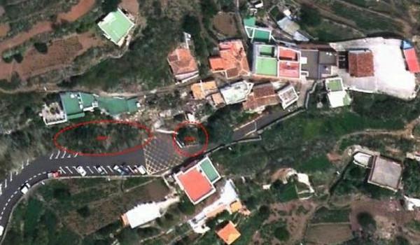 El Ayuntamiento de La Laguna inicia las obras de estabilización de un talud en la entrada al caserío de El Batán
