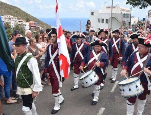 Taganana rescata la Librea en recuerdo de la defensa popular ante la invasión de Nelson