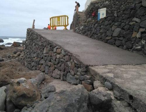 El Ayuntamiento de Santa Cruz ejecuta la rehabilitación de una pista en el núcleo rural de Tachero