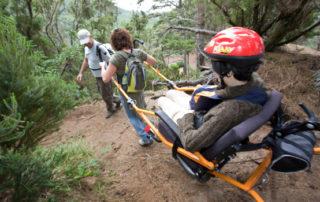 La Santa Cruz Extreme será sede de una carrera internacional para sillas adaptadas