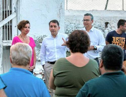 San Andrés verá ampliada la zona de ocio infantil en la plaza de Las Adelfas
