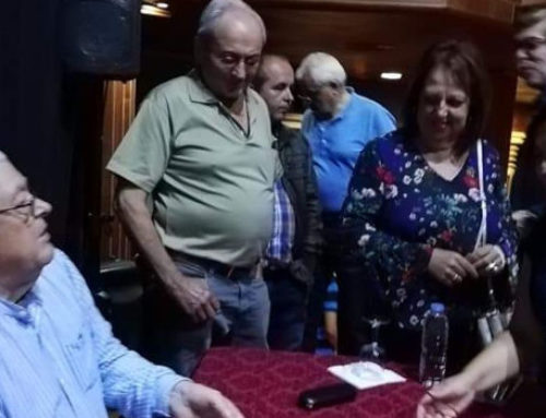González Rojas presenta en Tegueste su libro de poemas sobre Anaga