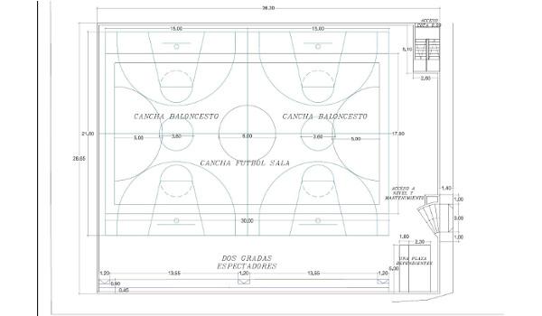 Santa Cruz licita la construcción de una cancha polideportiva en Almáciga