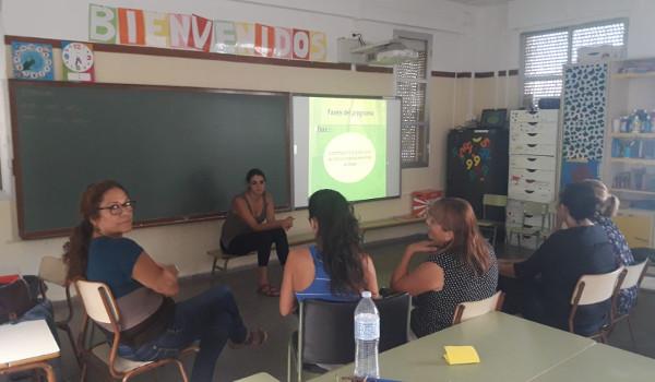 El proyecto Colegios de la Biosfera se pone en marcha en el CEIP Julián Rojas de Vera de Taganana