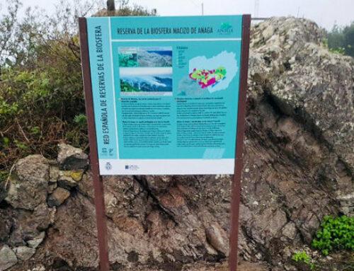 La Reserva de la Biosfera del Macizo de Anaga ya disfruta de nueva señalización
