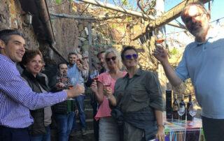 Una decena de Masters of Wine prueba los caldos de Taganana