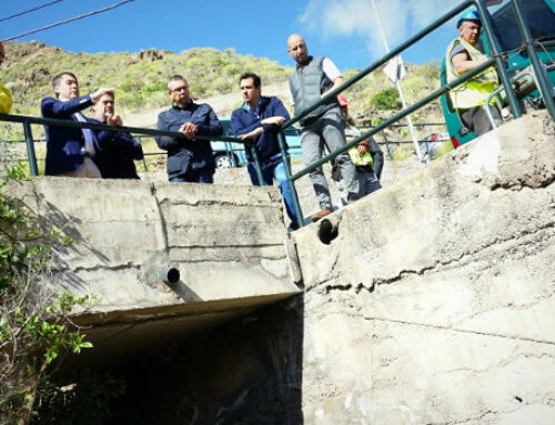Santa Cruz inicia los trabajos de reparación del Barranco de El Cilantro