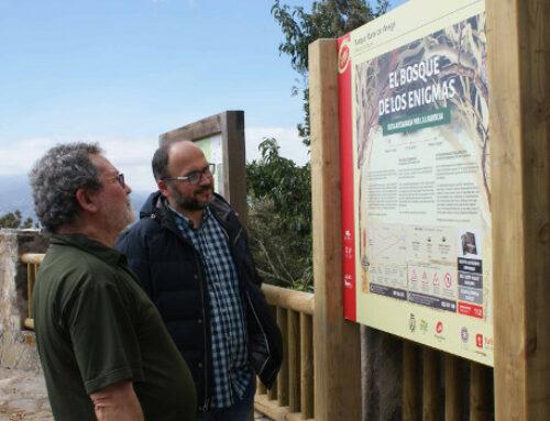 El Cabildo finaliza la señalización del sendero El Bosque de Los Enigmas