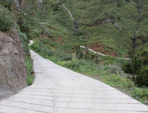 El Cabildo invierte 220.000 euros en la mejora de dos pistas agrícolas en Anaga