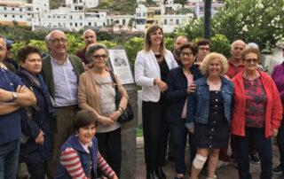 Homenaje de la Autoridad Portuaria a los atalayeros de Anaga