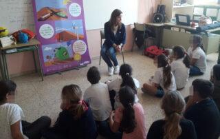 El CEIP Punta del Hidalgo acoge el taller 'Vivir en una Reserva'