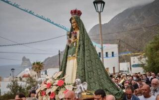 Almáciga estrena nueva iglesia en honor a la Virgen de Begoña