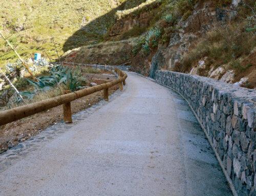 El Cabildo finaliza las obras de mejora en el Camino del Tomadero