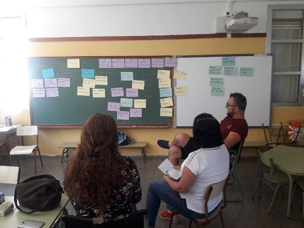 Sesiones de evaluación en los Colegios de la Biosfera